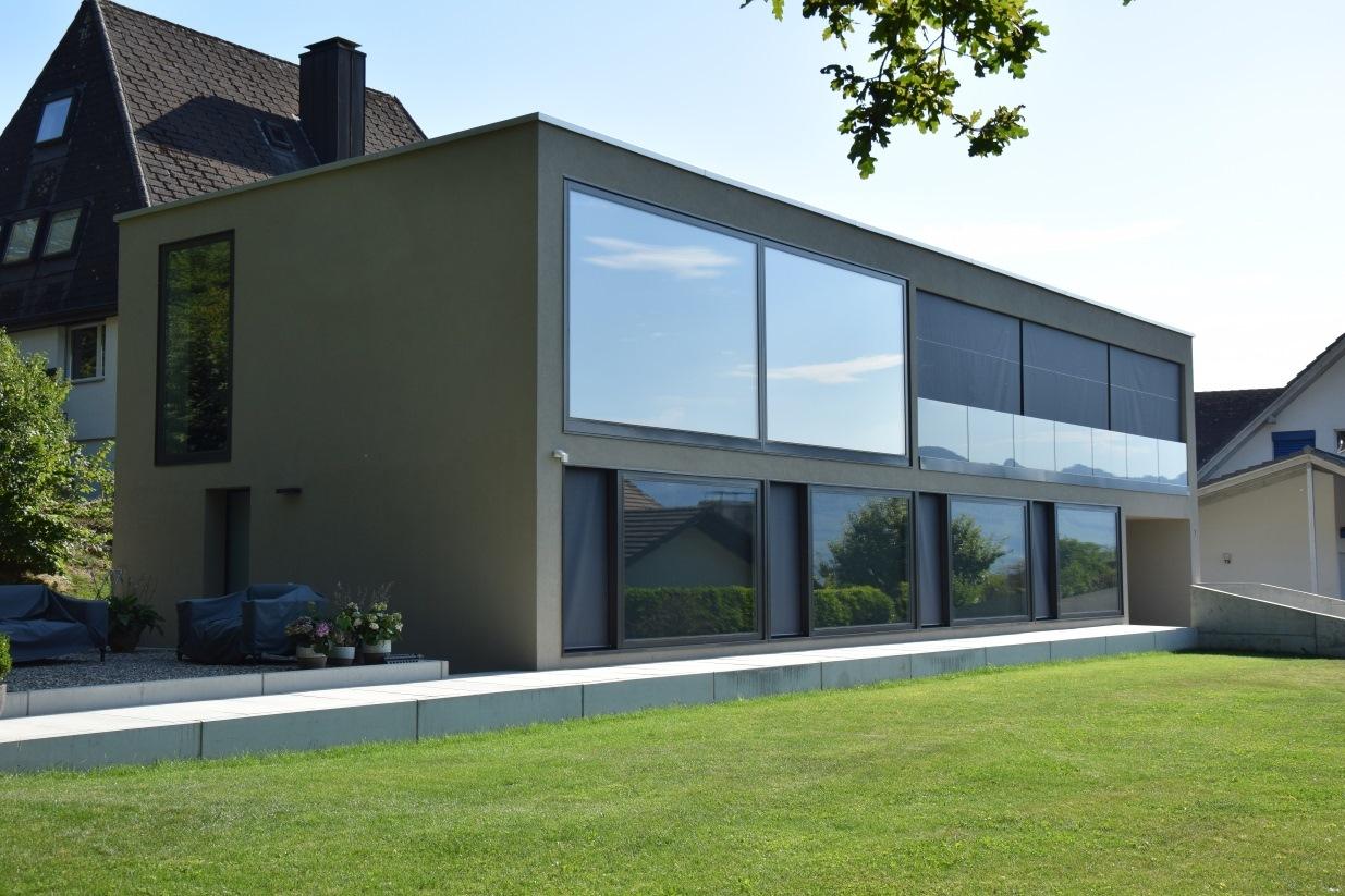 Neubau einfamilienhaus starrkirch wil projekte daniel for Raumaufteilung einfamilienhaus neubau